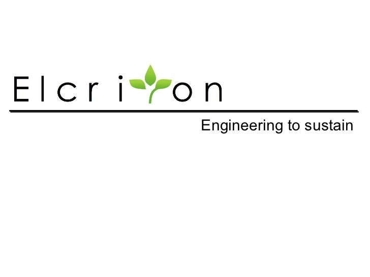 Engineering to sustain