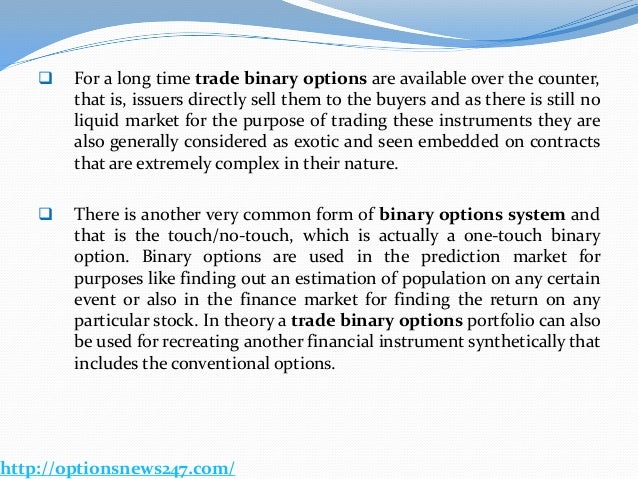 Currency option trading broker