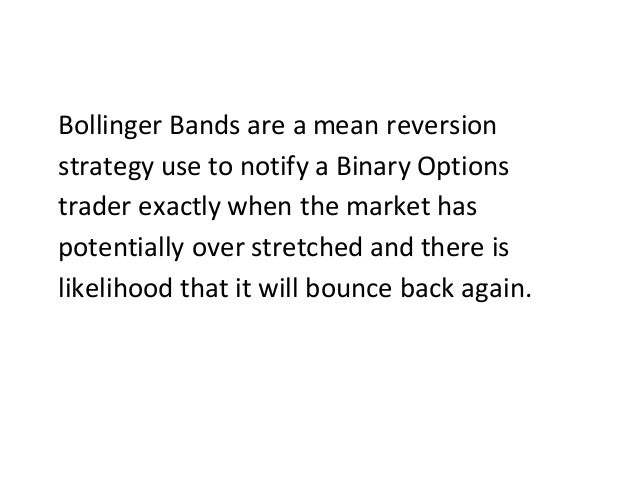 Bollinger band mean reversion strategy
