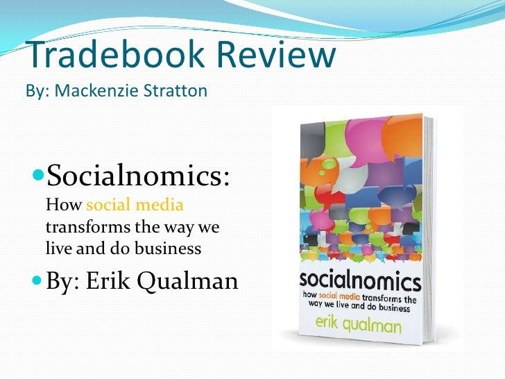 Mackenzie's Trade Book Review on Socialnomics