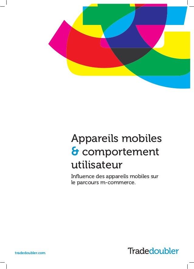Appareils mobiles & comportement utilisateur via Tradedoubler