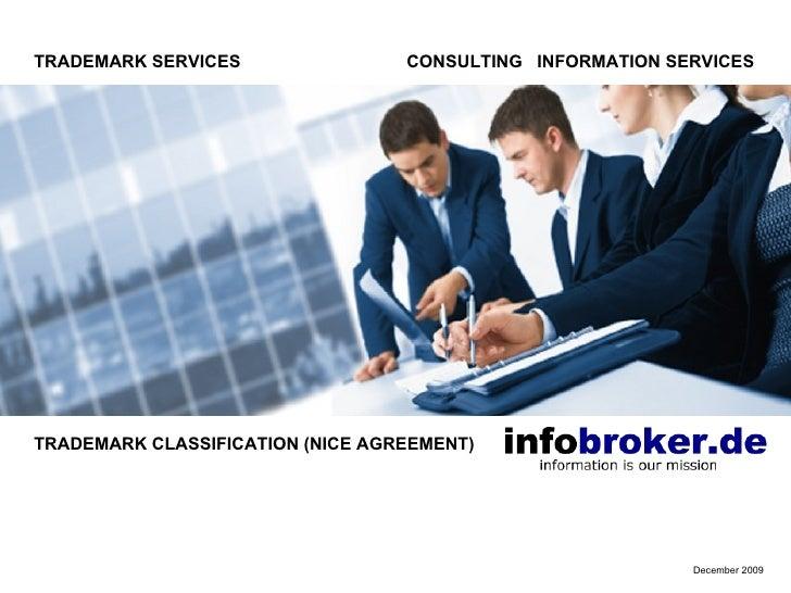 Trademark Classes - Nice Classification