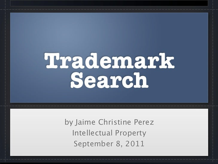 Trademark Search
