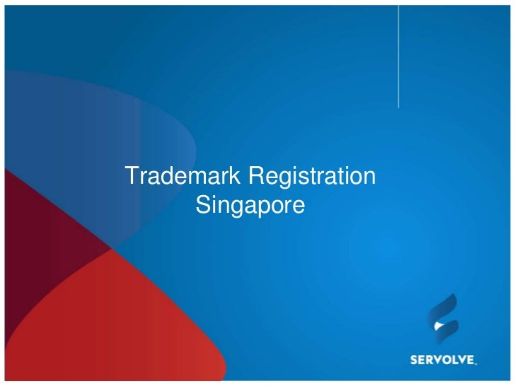 Trademark Registration     Singapore