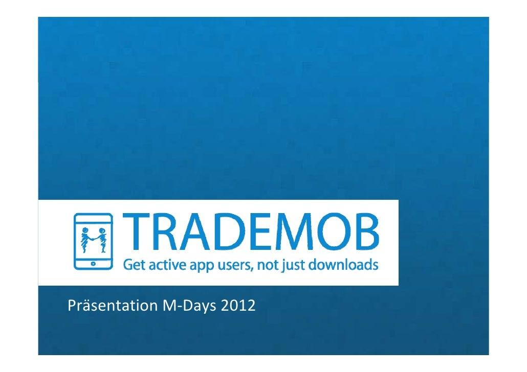 PräsentationM‐Days2012