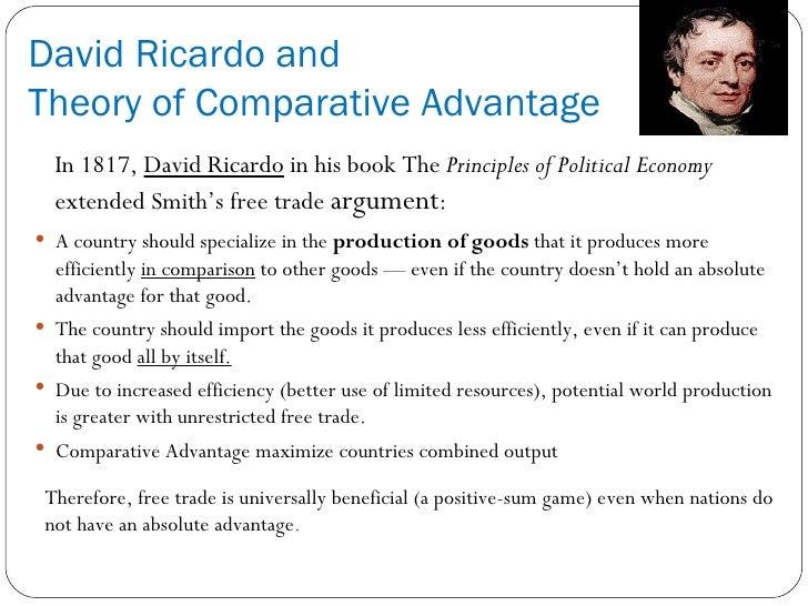 Ricardo's Theory of Comparative Advantage: Old Idea, New Evidence