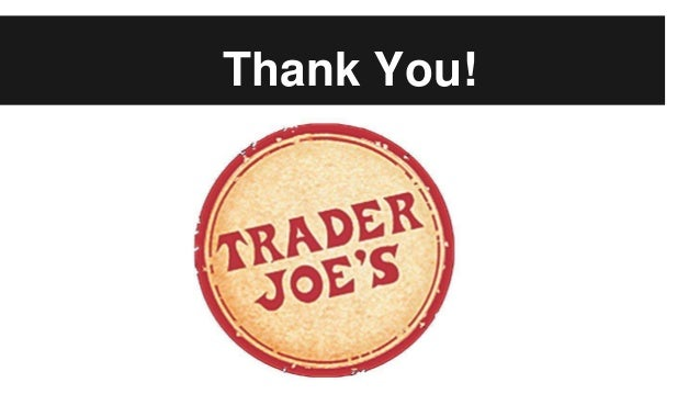 trader joes study case