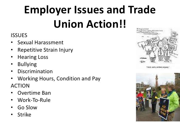 role of trade union in compensation management management essay Object of this lesson is to initiate in to industrial relations management trade union or to engage in concerted activities for the purpose of collective.