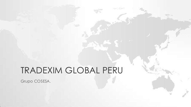Tradexim global peru presentacion