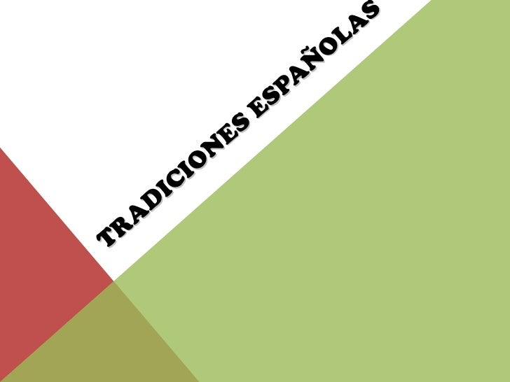 """Programa """"Tradiciones españolas!!! Sólo para los muy patriotas ..."""
