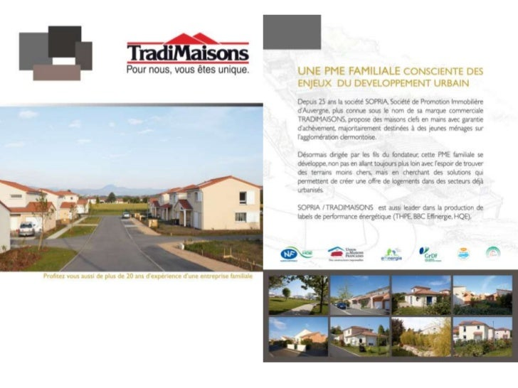 Tradimaisons présentation de l'entreprise 2012