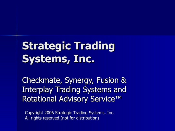 Trading System Seminar Handout