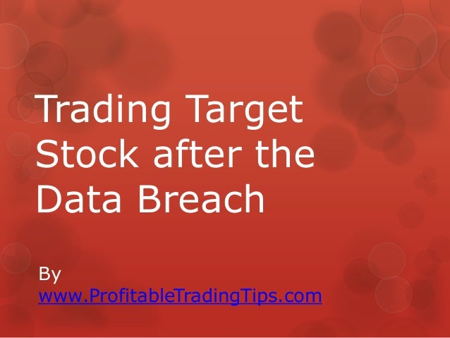 Trading Target Stock after the Data Breach