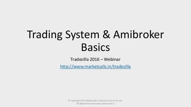 trading system design