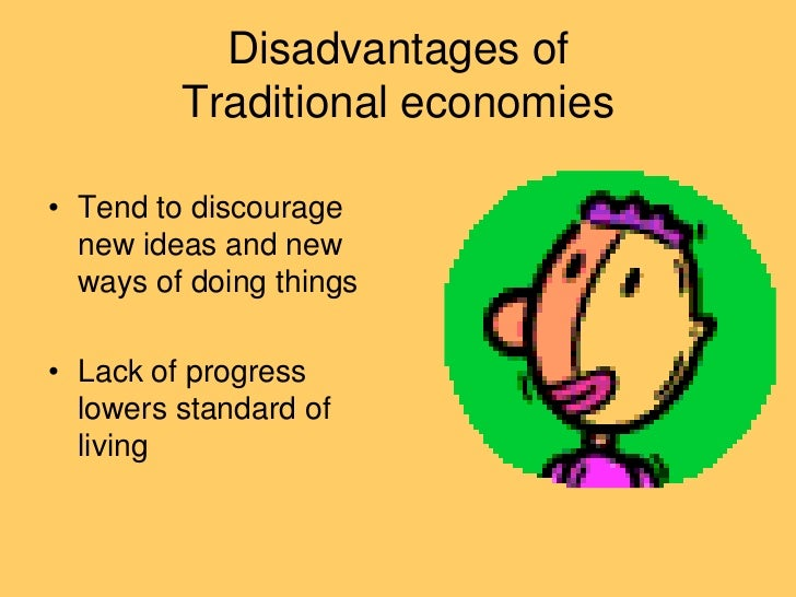 define traditional economy
