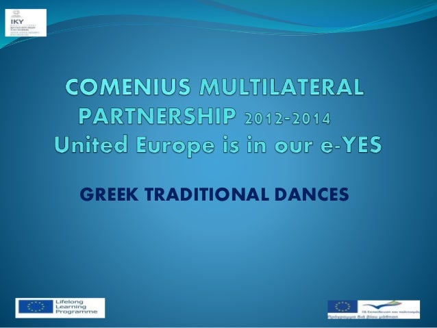 GREEK TRADITIONAL DANCES