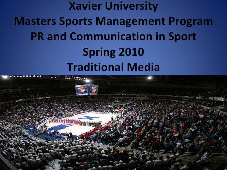 Traditional Media Presentation