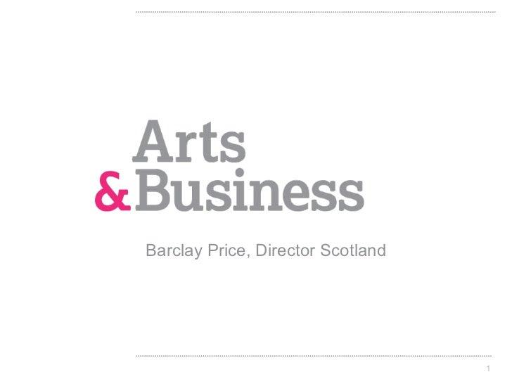 Barclay Price, Director Scotland