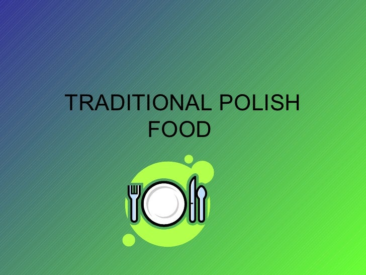 Traditional polish food_and_drinks