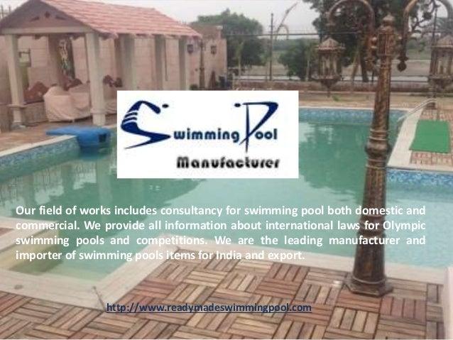 Traditional Swimming Pool In Delhi