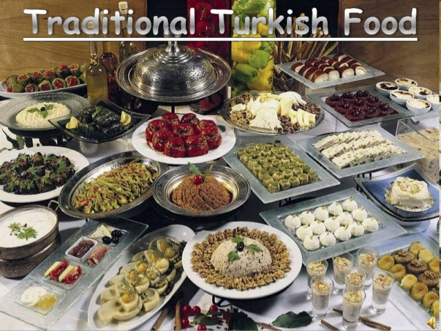 Traditional turkish food for Authentic turkish cuisine