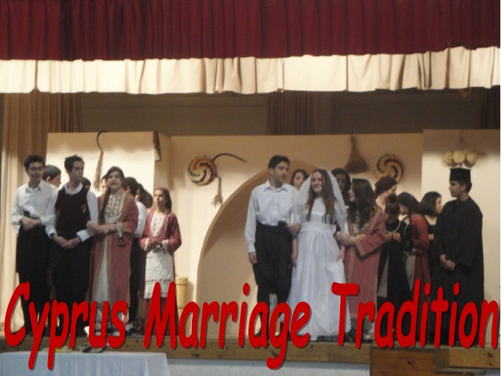 Cyprus Marriage Tradition