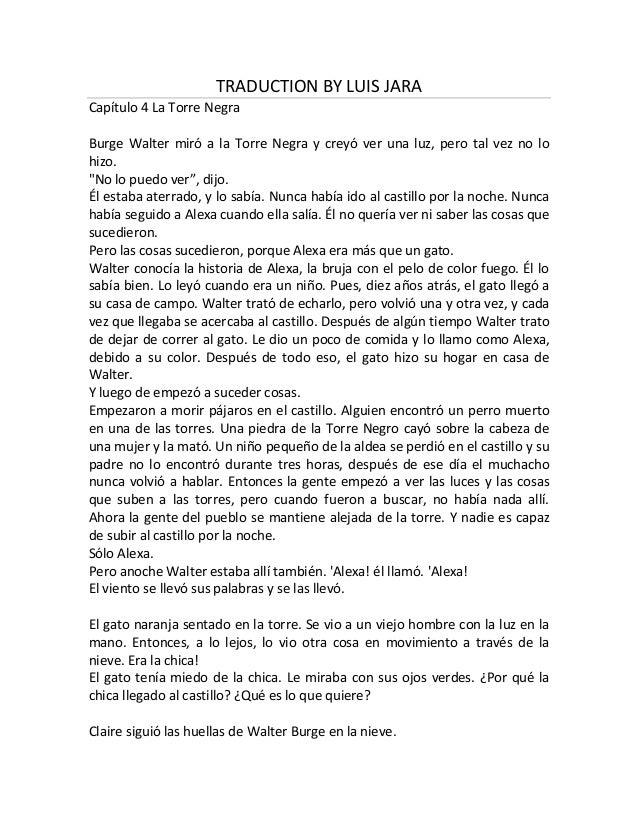 Traduction by luis jara