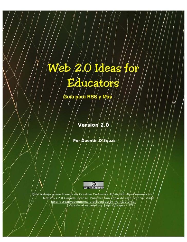 WEB 2.0 ideas para la educación