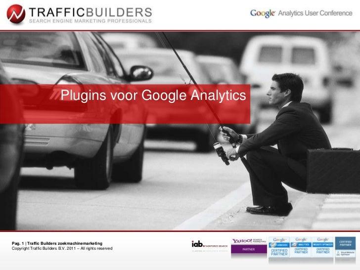 Plugins voor Google Analytics<br />