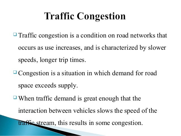 traffic jam problems and solutions essay The traffic congestion and reliability: linking solutions to problems report provides a snapshot of congestion in the united states by summarizing recent trends in.