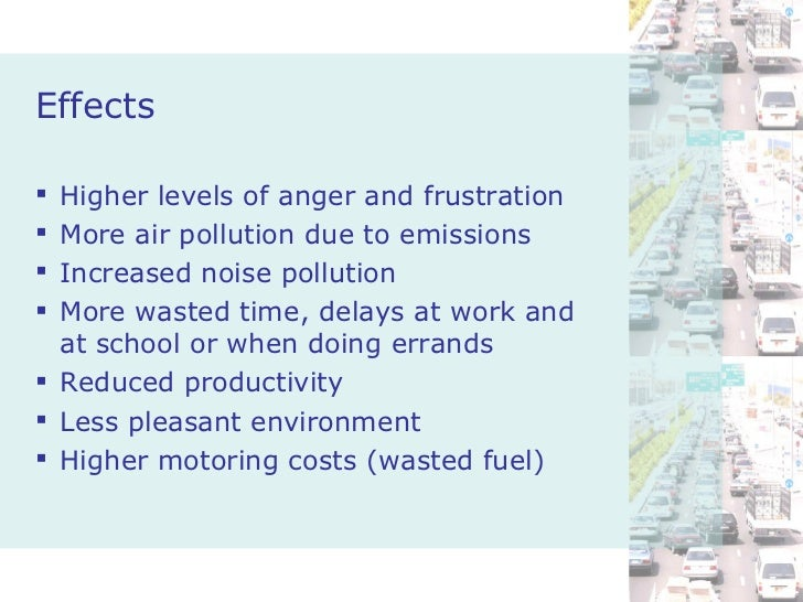 Pollution cause and effect essay