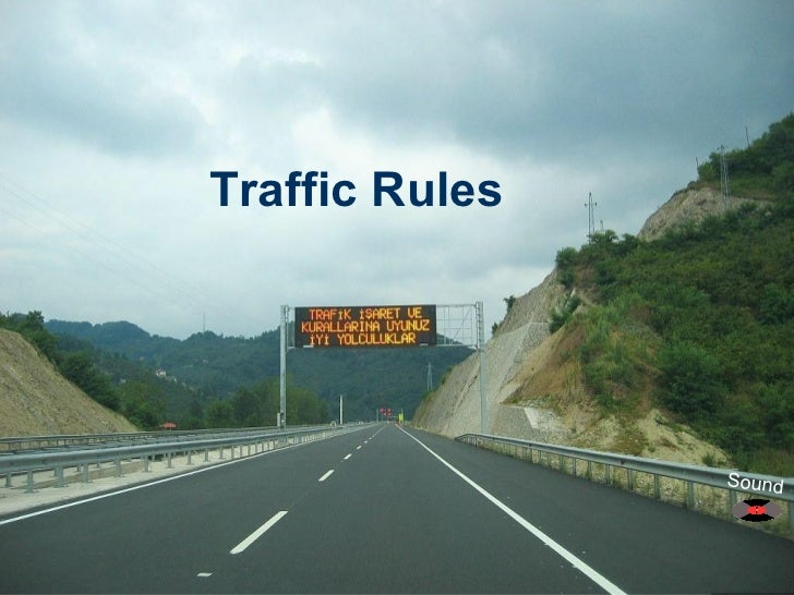 Traffic Rules Sound