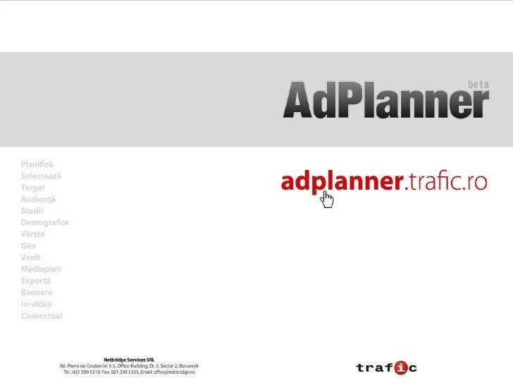 trafic AdPlanner