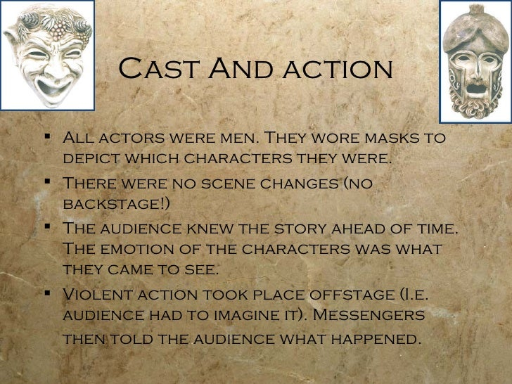 greek drama original script Students explore greek drama characteristics of greek theater – lesson plan adapt a greek myth or an original myth into a script.