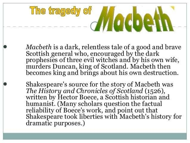 Tyranny in Macbeth