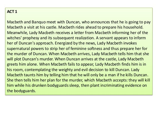 macbeths power in macbeth essay Macbeth's lust for power in shakespeare's macbeth essay soliloquy in act 2 scene 1, macbeth has doubts about duncan's murder he says to himself that if the deed is to be done then it will have to be done quickly.