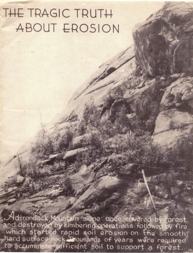 Tragic truth about erosion 1935