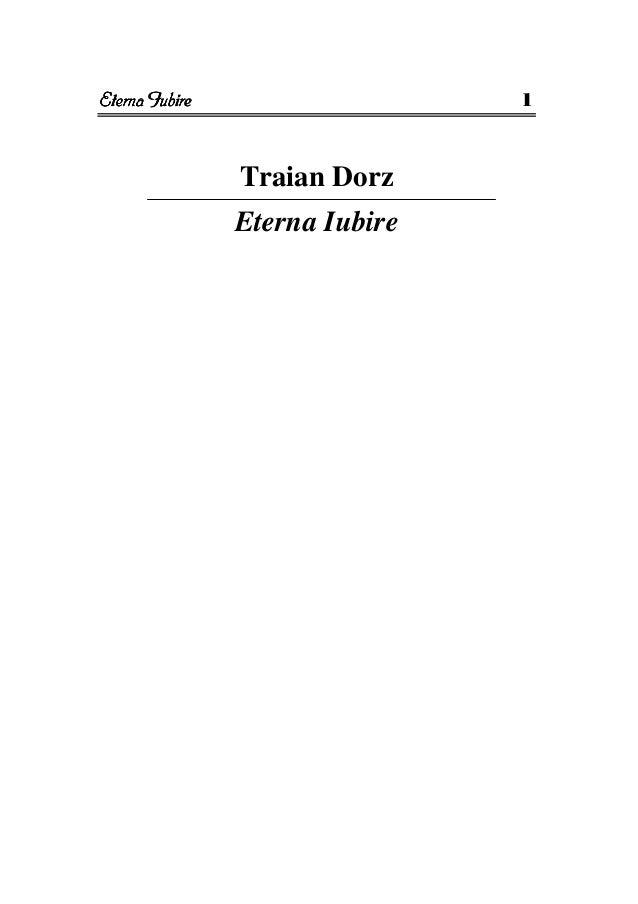 Traian Dorz: Eterna iubire