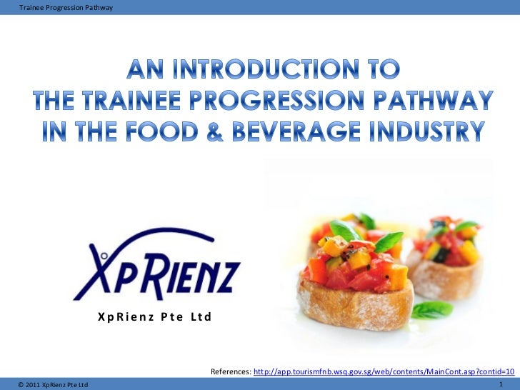 Trainee Progression Pathway                         XpRienz Pte Ltd                                       References: http...