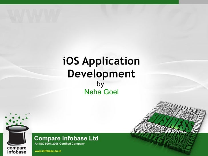 iOS Application Development by  Neha Goel
