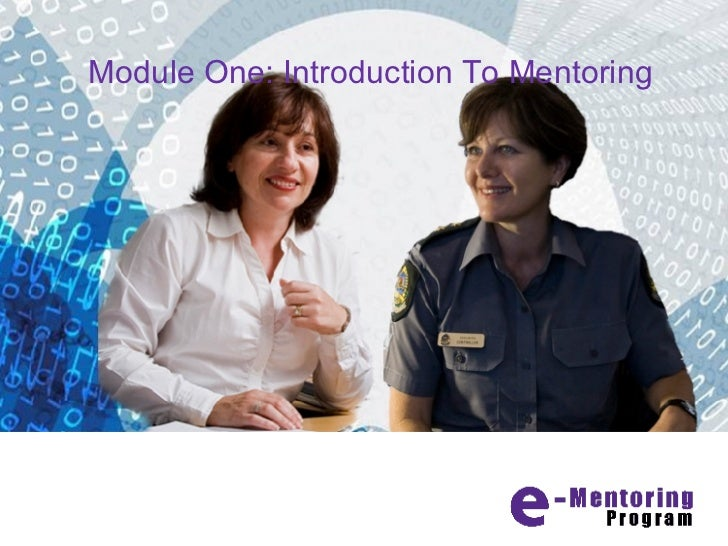 Module One: Introduction To Mentoring