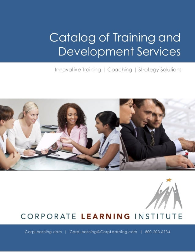 Training and Delevopment Brochure of Services