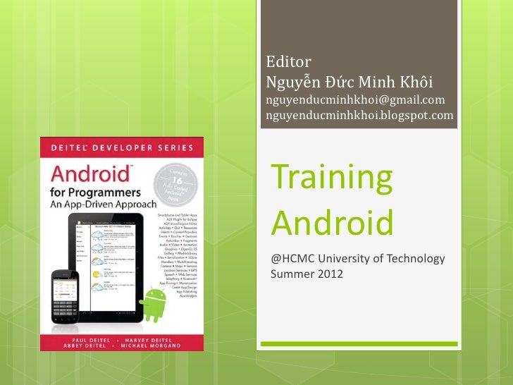 Training android