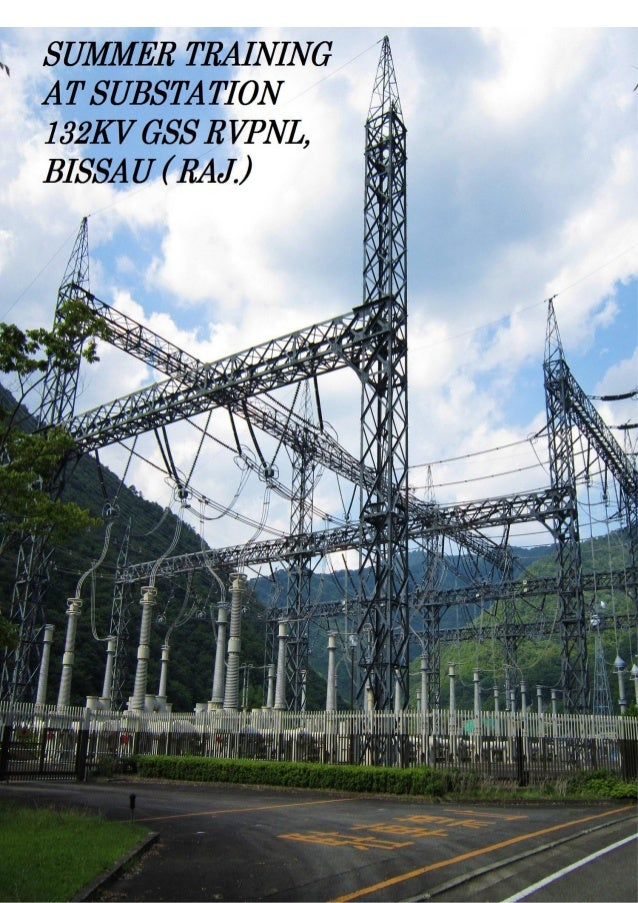 Training at 132 kv substation for Substation pdf
