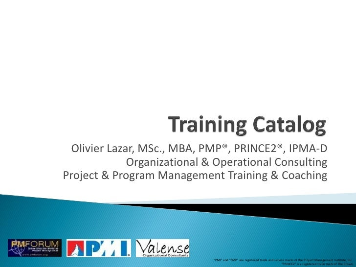 Training Catalog 0710