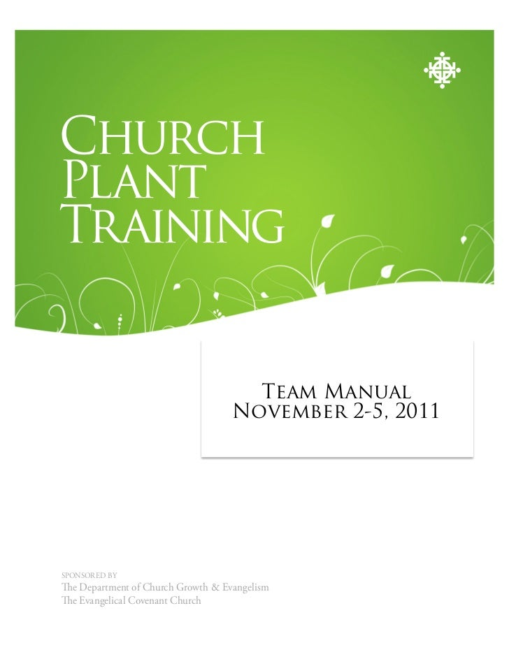 ChurchPlantTraining                                               PARTICIPANT'S GUIDE                                     ...
