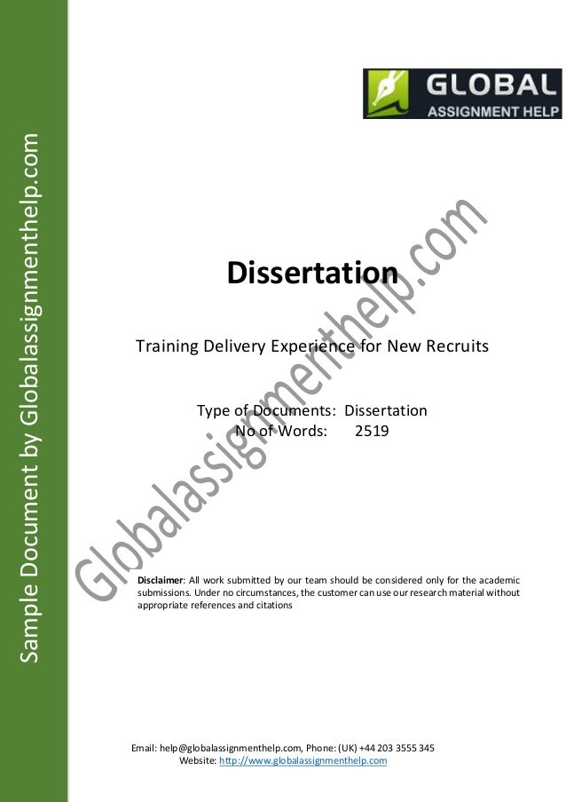 Dissertation on employee induction