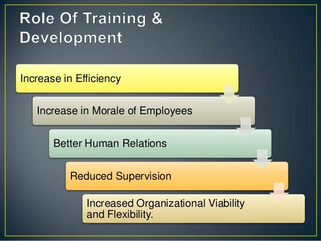 E-learning in training and development ppt