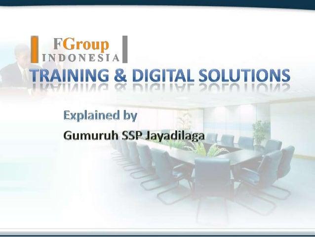 FGroupindonesia :: Training & Digital Solutions