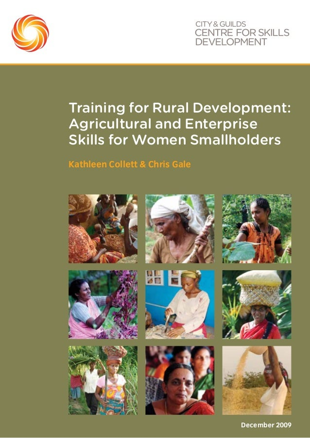 Training for rural development  final